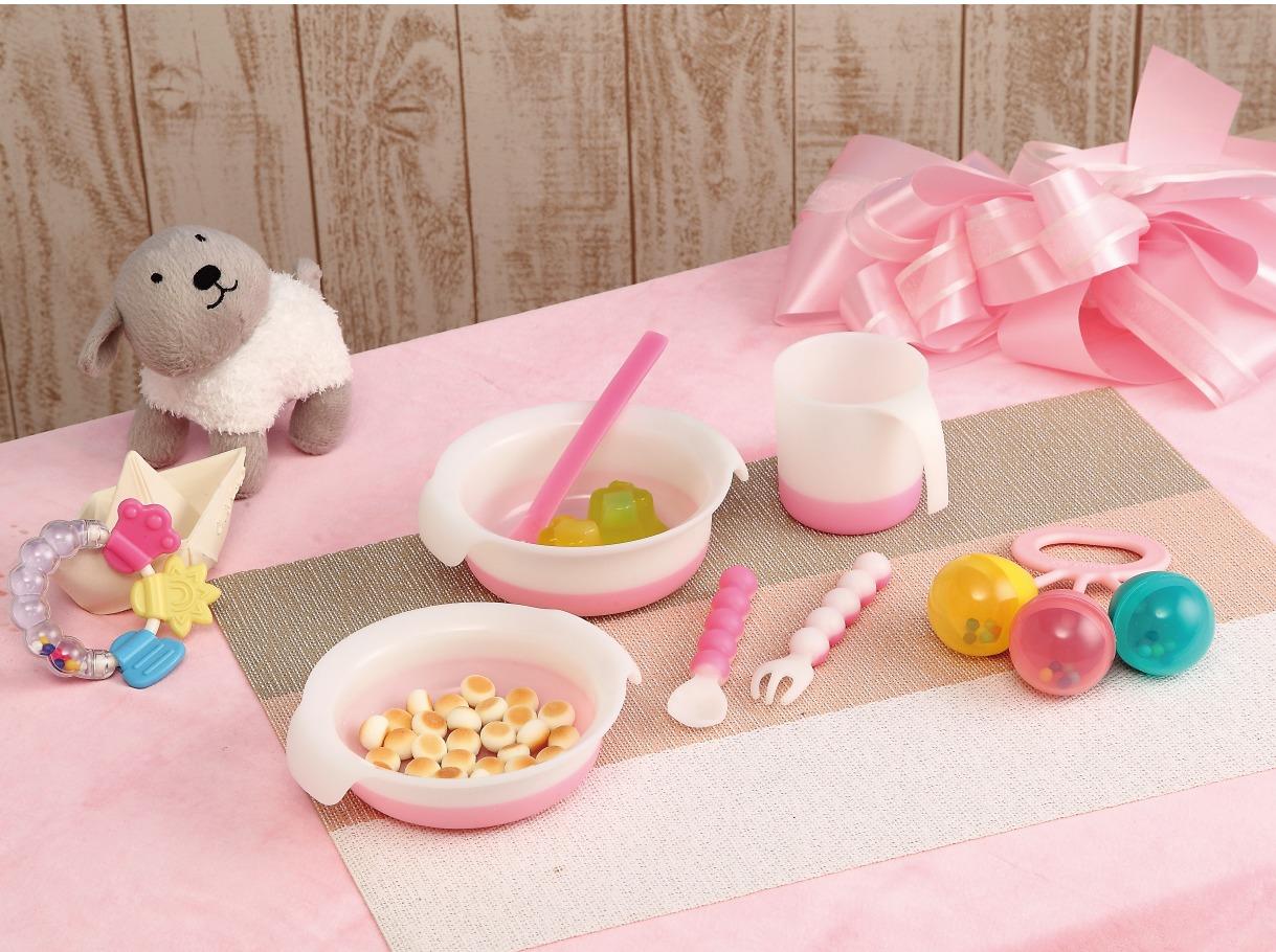 嬰幼童餐具六件組(5色可選)