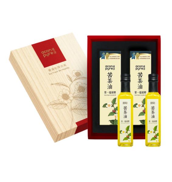 連淨苦茶油禮盒組(250mlX2)